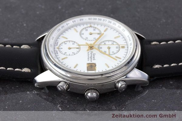 Used luxury watch Girard Perregaux Olimpico chronograph steel automatic Kal. 800-014 Ref. 4900  | 160570 05