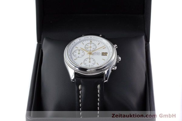 Used luxury watch Girard Perregaux Olimpico chronograph steel automatic Kal. 800-014 Ref. 4900  | 160570 07
