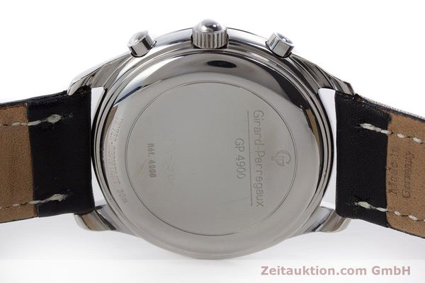 Used luxury watch Girard Perregaux Olimpico chronograph steel automatic Kal. 800-014 Ref. 4900  | 160570 09