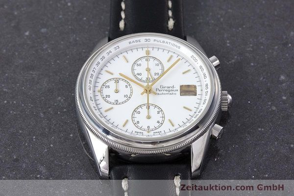 Used luxury watch Girard Perregaux Olimpico chronograph steel automatic Kal. 800-014 Ref. 4900  | 160570 13