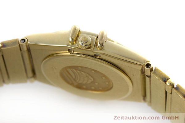 Used luxury watch Omega Constellation 18 ct gold quartz Kal. 1450  | 160571 08
