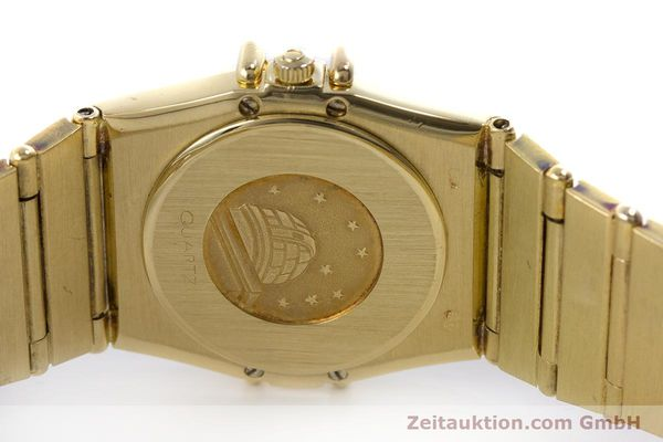 Used luxury watch Omega Constellation 18 ct gold quartz Kal. 1450  | 160571 09