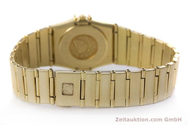 Used luxury watch Omega Constellation 18 ct gold quartz Kal. 1450  | 160571 11