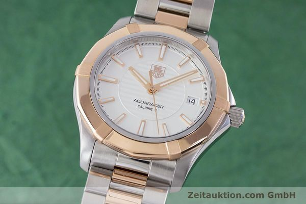 TAG HEUER AQUARACER ACIER / OR AUTOMATIQUE KAL. 5 LP: 5750EUR [160577]