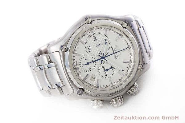 Used luxury watch Ebel 1911 chronograph steel automatic Kal. E137 Ref. E9137L70  | 160578 03