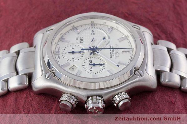 Used luxury watch Ebel 1911 chronograph steel automatic Kal. E137 Ref. E9137L70  | 160578 05