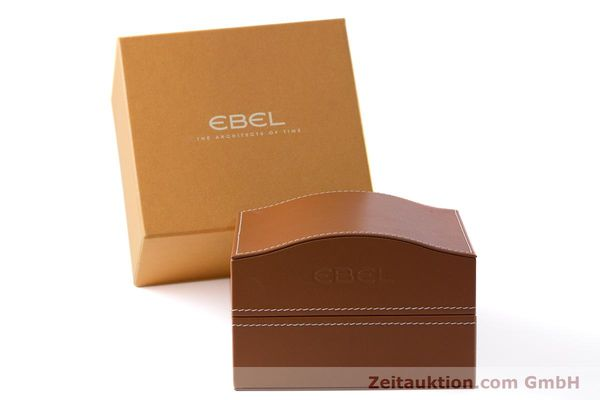 Used luxury watch Ebel 1911 chronograph steel automatic Kal. E137 Ref. E9137L70  | 160578 06