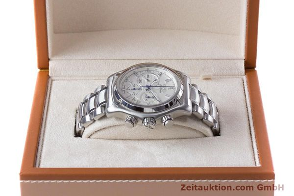 Used luxury watch Ebel 1911 chronograph steel automatic Kal. E137 Ref. E9137L70  | 160578 07