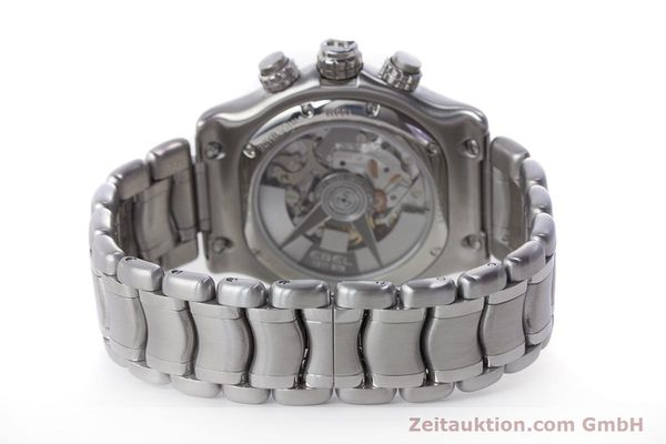 Used luxury watch Ebel 1911 chronograph steel automatic Kal. E137 Ref. E9137L70  | 160578 12