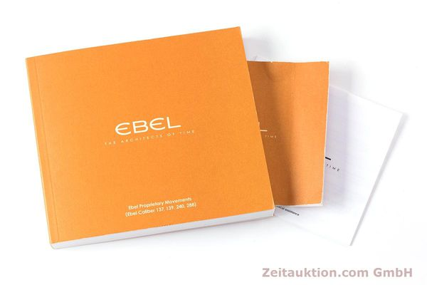 Used luxury watch Ebel 1911 chronograph steel automatic Kal. E137 Ref. E9137L70  | 160578 13