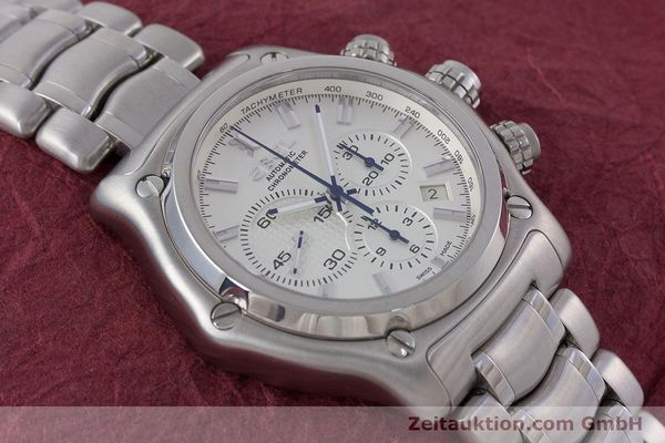 Used luxury watch Ebel 1911 chronograph steel automatic Kal. E137 Ref. E9137L70  | 160578 16