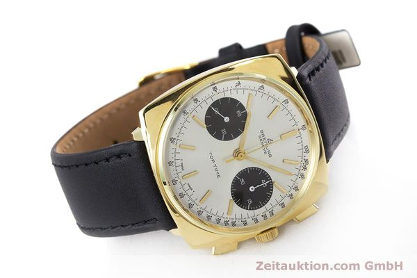 Used luxury watch Breitling Top Time chronograph gold-plated manual winding Kal. Valj. 7733 Ref. 2008 VINTAGE  | 160579 03