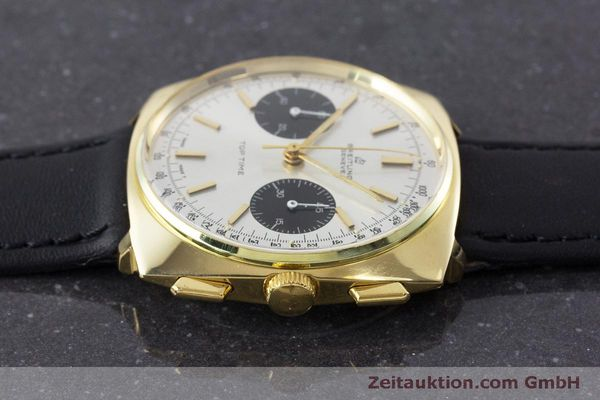 Used luxury watch Breitling Top Time chronograph gold-plated manual winding Kal. Valj. 7733 Ref. 2008 VINTAGE  | 160579 05