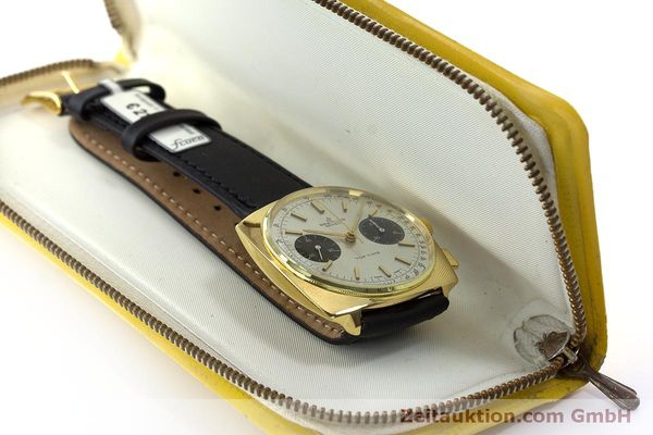 Used luxury watch Breitling Top Time chronograph gold-plated manual winding Kal. Valj. 7733 Ref. 2008 VINTAGE  | 160579 07