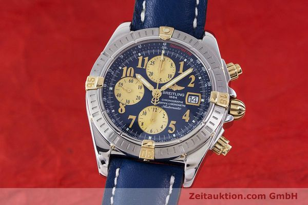 BREITLING EVOLUTION CHRONOGRAPHE ACIER / OR AUTOMATIQUE KAL. B13 ETA 7750 LP: 7300EUR [160580]