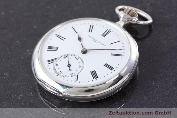 Used luxury watch Vacheron & Constantin Pocket Watch silver manual winding VINTAGE  | 160582 01