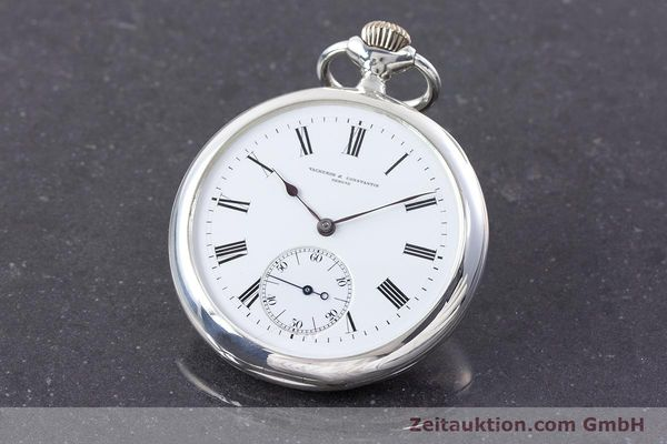 VACHERON & CONSTANTIN POCKET WATCH SILVER MANUAL WINDING VINTAGE [160582]