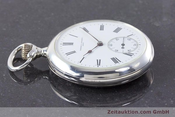 Used luxury watch Vacheron & Constantin Pocket Watch silver manual winding VINTAGE  | 160582 05