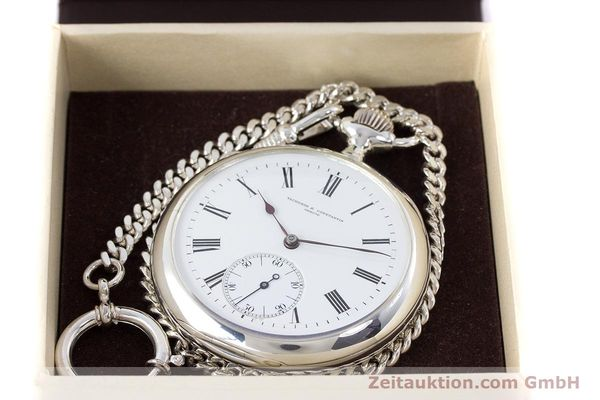 Used luxury watch Vacheron & Constantin Pocket Watch silver manual winding VINTAGE  | 160582 07