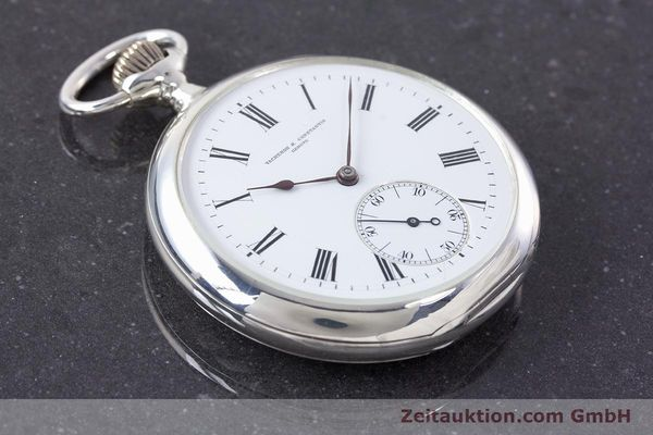 Used luxury watch Vacheron & Constantin Pocket Watch silver manual winding VINTAGE  | 160582 14