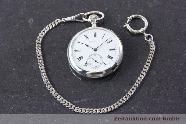Used luxury watch Vacheron & Constantin Pocket Watch silver manual winding VINTAGE  | 160582 15