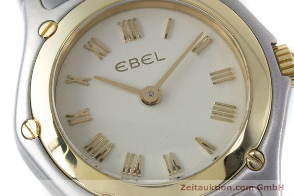 Used luxury watch Ebel Classic Wave steel / gold quartz Kal. 157 Ref. 1157F11  | 160584 02