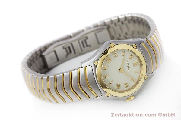 Used luxury watch Ebel Classic Wave steel / gold quartz Kal. 157 Ref. 1157F11  | 160584 03