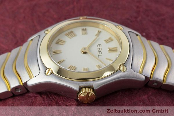 Used luxury watch Ebel Classic Wave steel / gold quartz Kal. 157 Ref. 1157F11  | 160584 05