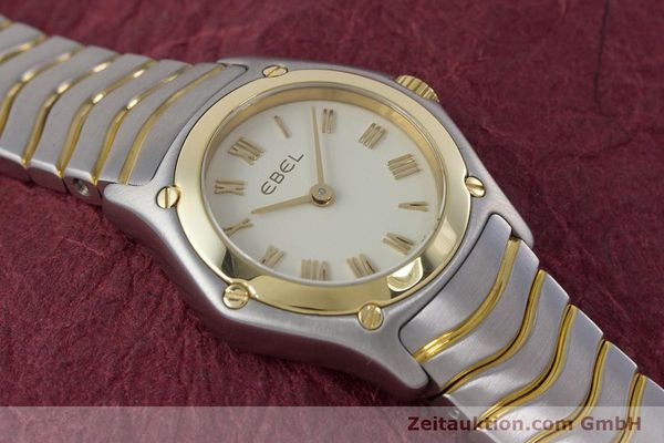 Used luxury watch Ebel Classic Wave steel / gold quartz Kal. 157 Ref. 1157F11  | 160584 13