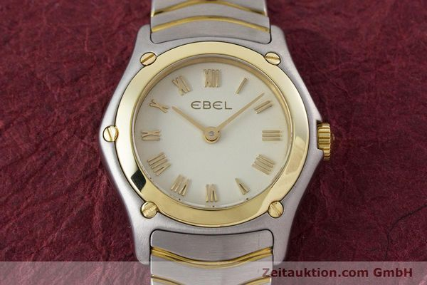Used luxury watch Ebel Classic Wave steel / gold quartz Kal. 157 Ref. 1157F11  | 160584 14