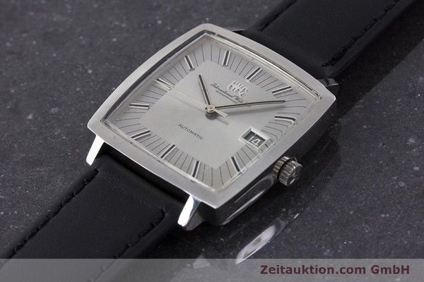 Used luxury watch IWC * steel automatic Kal. 8541B VINTAGE  | 160587 01