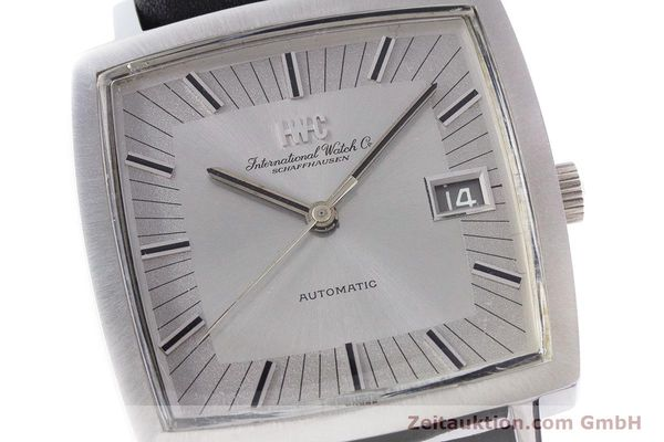 Used luxury watch IWC * steel automatic Kal. 8541B VINTAGE  | 160587 02