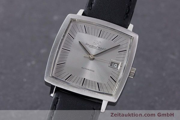 Used luxury watch IWC * steel automatic Kal. 8541B VINTAGE  | 160587 04
