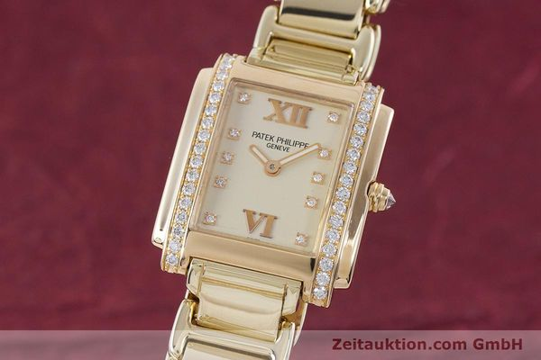 PATEK PHILIPPE TWENTY 4 OR 18 CT QUARTZ KAL. E15 LP: 33880EUR [160588]
