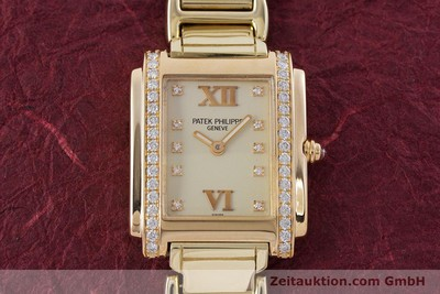 PATEK PHILIPPE TWENTY 4 18 CT GOLD QUARTZ KAL. E15 LP: 33880EUR [160588]