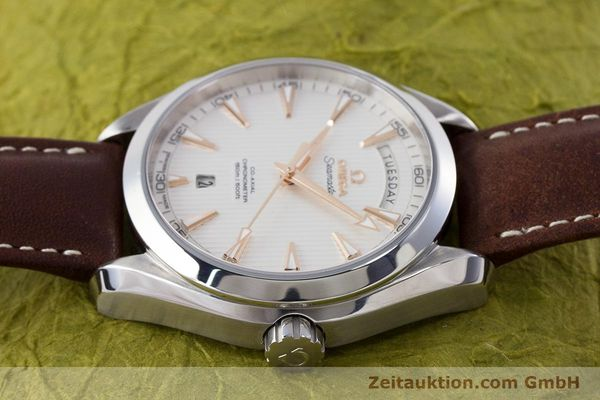 Used luxury watch Omega Seamaster steel automatic Kal. 8602 Ref. 231.13.42.22.02.001  | 160591 05