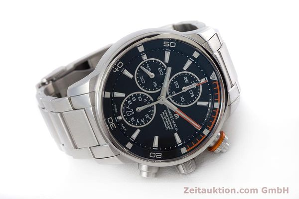 Used luxury watch Maurice Lacroix Pontos chronograph steel automatic Kal. SW 500 Ref. PT6008  | 160595 03