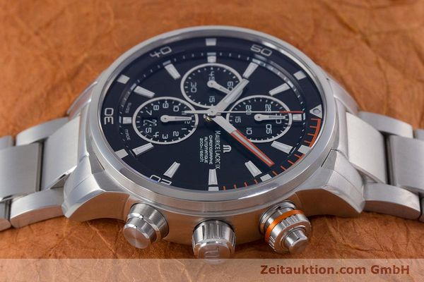 Used luxury watch Maurice Lacroix Pontos chronograph steel automatic Kal. SW 500 Ref. PT6008  | 160595 05