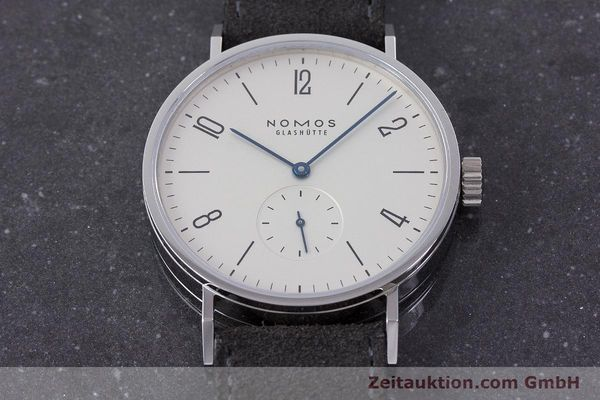 Used luxury watch Nomos Tangomat steel automatic Kal. Epsilon  | 160597 16