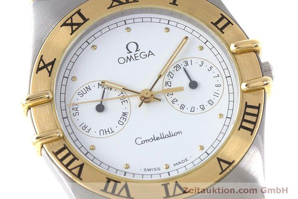 Used luxury watch Omega Constellation steel / gold quartz Kal. 1445 ETA 255472  | 160600 02