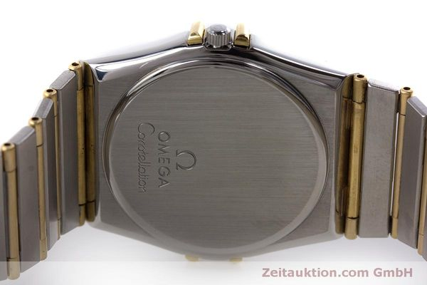 Used luxury watch Omega Constellation steel / gold quartz Kal. 1445 ETA 255472  | 160600 09