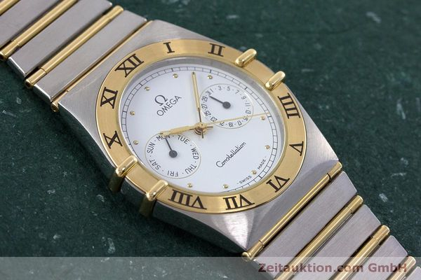 Used luxury watch Omega Constellation steel / gold quartz Kal. 1445 ETA 255472  | 160600 13