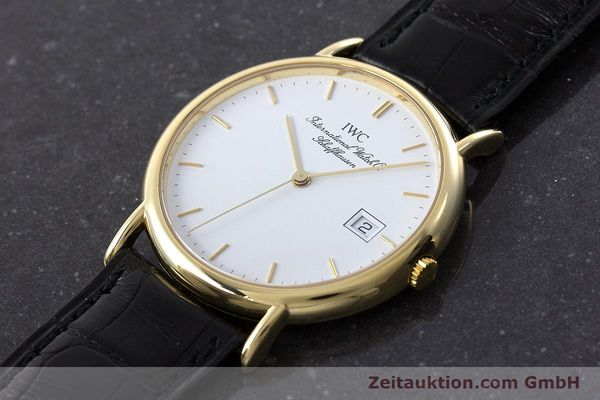 Used luxury watch IWC Portofino 18 ct gold quartz Kal. 2210 ETA 255.411 Ref. 3331  | 160610 01