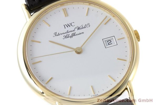 Used luxury watch IWC Portofino 18 ct gold quartz Kal. 2210 ETA 255.411 Ref. 3331  | 160610 02