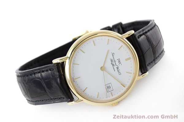 Used luxury watch IWC Portofino 18 ct gold quartz Kal. 2210 ETA 255.411 Ref. 3331  | 160610 03
