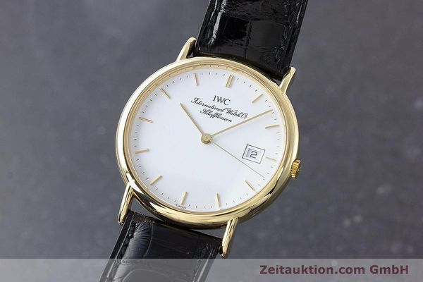 Used luxury watch IWC Portofino 18 ct gold quartz Kal. 2210 ETA 255.411 Ref. 3331  | 160610 04