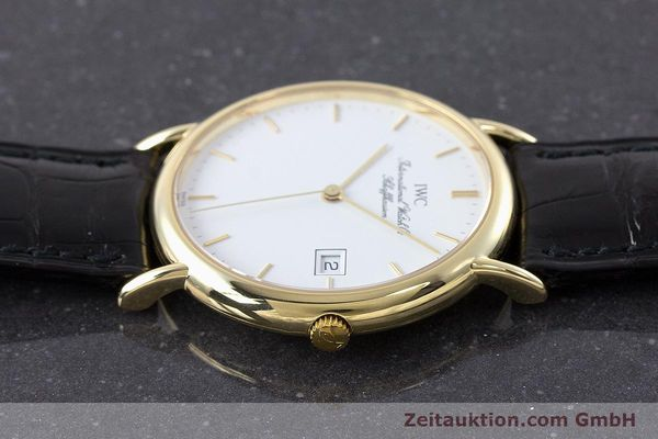Used luxury watch IWC Portofino 18 ct gold quartz Kal. 2210 ETA 255.411 Ref. 3331  | 160610 05