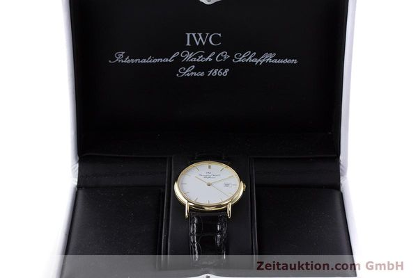Used luxury watch IWC Portofino 18 ct gold quartz Kal. 2210 ETA 255.411 Ref. 3331  | 160610 07