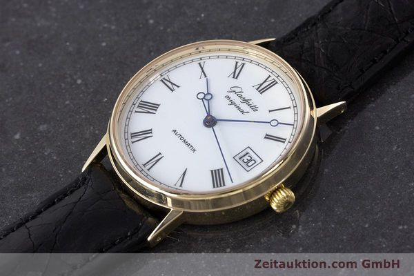 Used luxury watch Glashütte * 14 ct yellow gold automatic Kal. GUB 10-30  | 160613 01