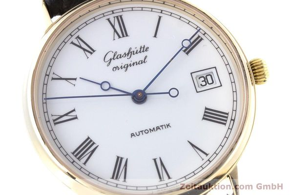 Used luxury watch Glashütte * 14 ct yellow gold automatic Kal. GUB 10-30  | 160613 02